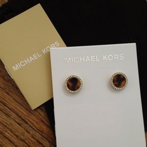 Michael Kors Accessories - Michael Kors Tortise Shell Earrings