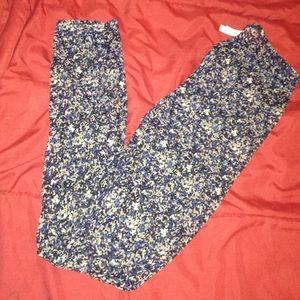 Pants - ✅✅Sheer floral printed footless tights