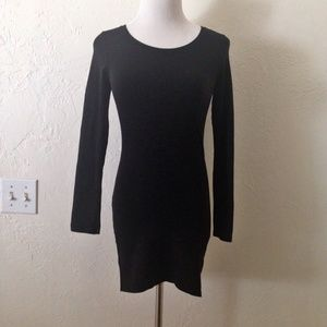 Black H&M Bodycon Mini Dress