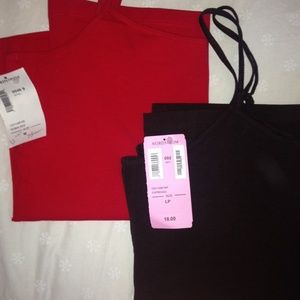Two Nordstrom thin strapped tank tops
