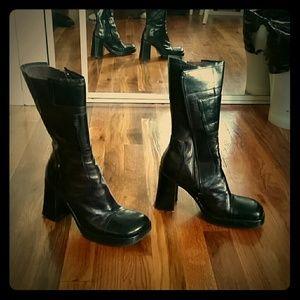 Steve Madden mid-calf boots