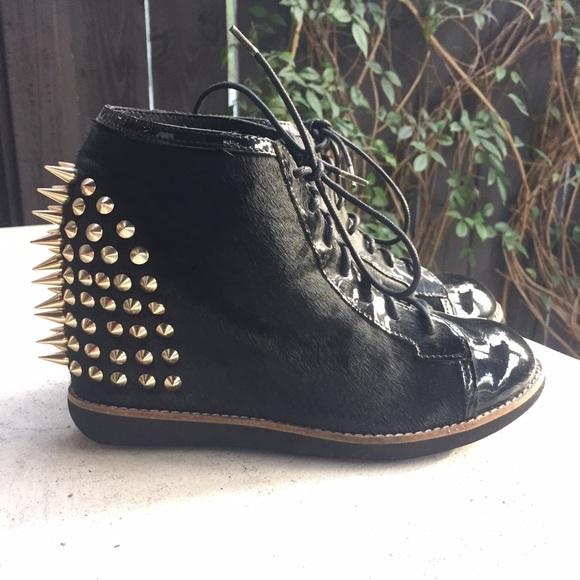 2fc89061dd1e Jeffrey Campbell Shoes - Jeffrey Campbell Edea Wedge Sneakers