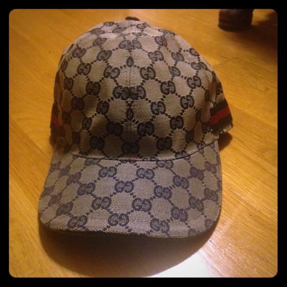 655b3c3bea9 Gucci Accessories - original gg canvas baseball hat with web