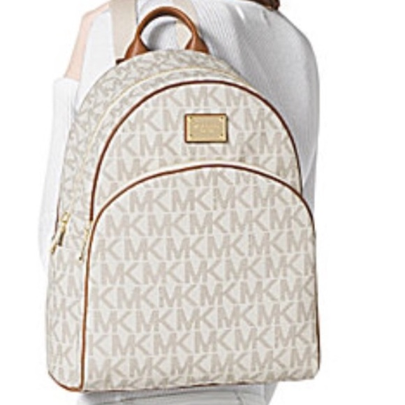 7c1f1496496189 MICHAEL Michael Kors Bags | Michael Kors Signature Jet Backpack ...
