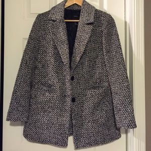 Forever 21 boucle coat