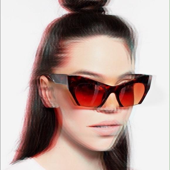 832fa06a17 Cateye sunglasses cat eye cut off shades
