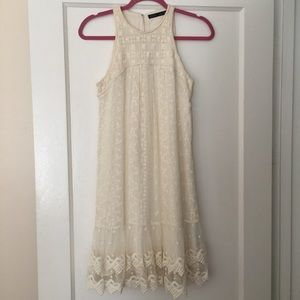 Zara Dresses & Skirts - Zara Laced Crochet Dress