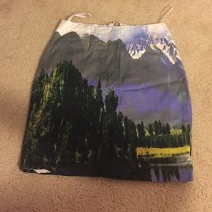 Motel Rocks body con skirt