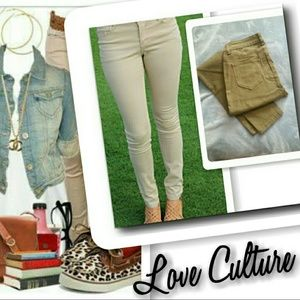 Love Culture Pants - Mid rise skiny jeans