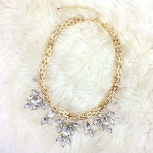 Jewelry - Crystal and Gold Necklace