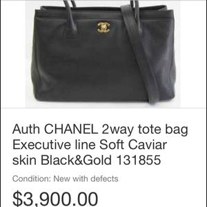 968b3e814faa Women s Chanel Executive Bag on Poshmark
