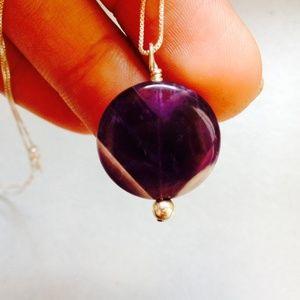 Jewelry - 🌟SALE 🌟Amethyst Pendant