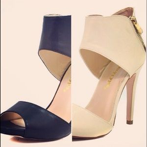 Shoes - Viva sandals in black or nude