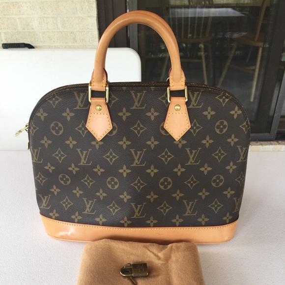 Louis Vuitton Bags   Sold Authentic Alma Monogram   Poshmark 4267672edd