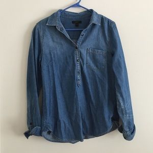 Jcrew denim chambray size 10