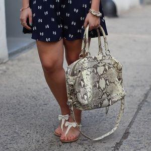 Rebecca Minkoff Handbags - SOLD Rebecca Minkoff M.A.B. Python Bag