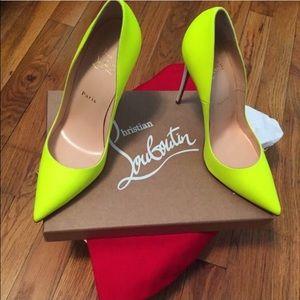 fd79556497b2 Christian Louboutin Shoes - ❗️SOLD❗️Christian Louboutin So Kate Yellow Heels
