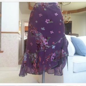 Dresses & Skirts - Purple skirt