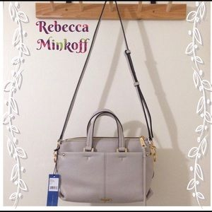 Auth Rebecca Minkoff Mini Sloane Satchel Bag