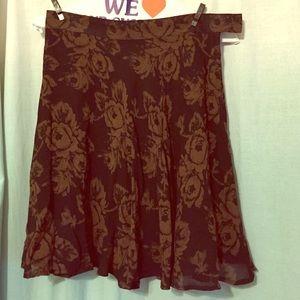 93 gap dresses skirts gap floral pleated skirt