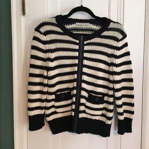 LOFT zip sweater