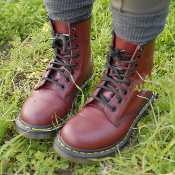 dr martens dr martens 1460 cherry red from kaylyn 39 s closet on poshmark. Black Bedroom Furniture Sets. Home Design Ideas