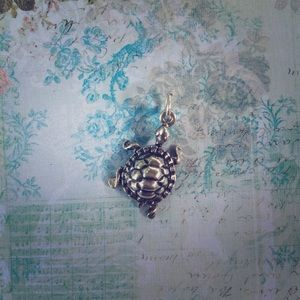 Accessories - Sterling Silver Turtle Charm