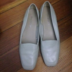 Enzo Angiolini Shoes - Cream Enzo  Anglioni flats