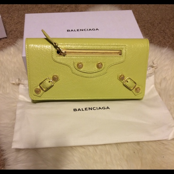 ffe68cd720fa Sold on Tradesy. Authentic Balenciaga Wallet
