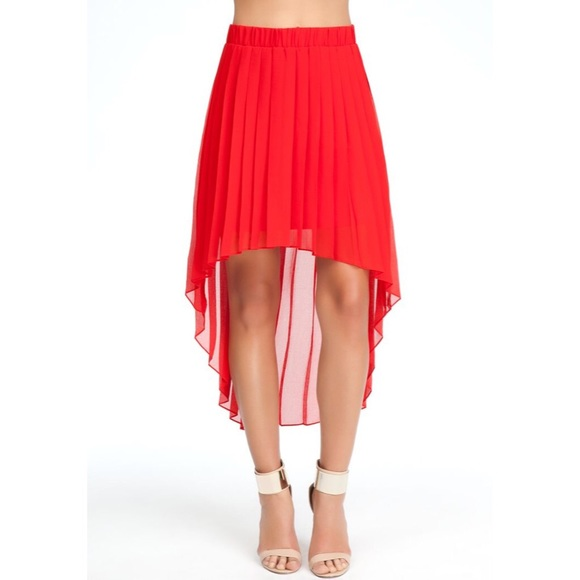 44 bebe dresses skirts bebe pleated high low