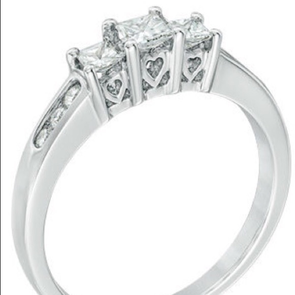 77% off Zales Jewelry Diamond Engagement Ring or Promise Ring from Kristen&