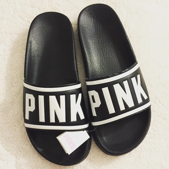 PINK Victoria's Secret - Victoria's Secret Pink sliders sandals from !bunny's closet on Poshmark