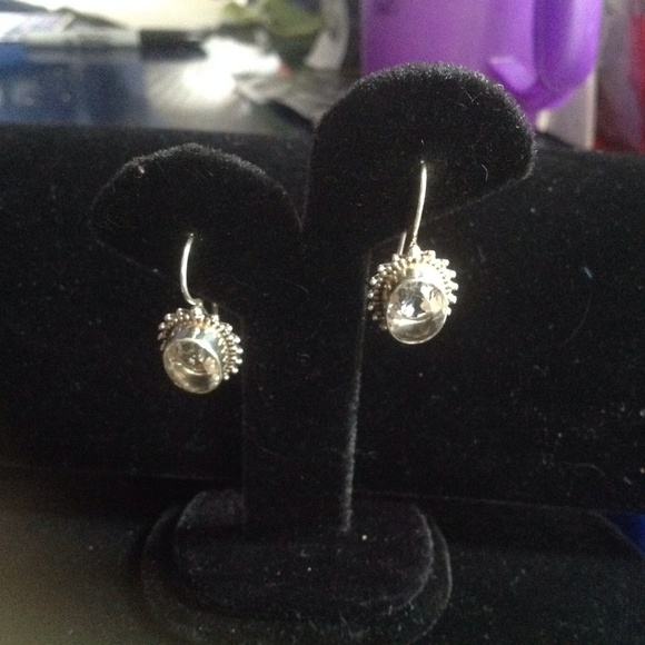 Jewelry - Artisan design Bezel set genuine quartz sterling