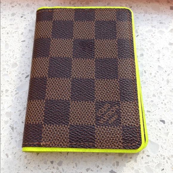 Louis Vuitton Clutches   Wallets - Louis Vuitton Damier Ebene Pocket  Organizer Runway 0ed031e4c9