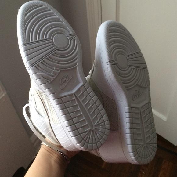 Nike Shoes - CALF HAIR NIKE DUNKS!