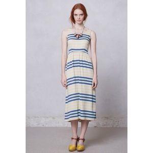 Dusen Dusen Spring Stripe Midi Dress
