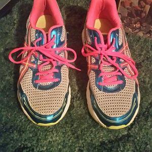 Asics size 10 tennis shoes