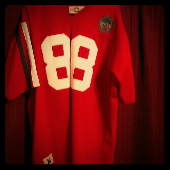 huge selection of 68847 304d9 Jerry Rice Authentic college jersey
