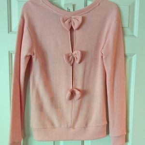 F21: Small Pink Sweater