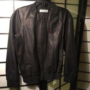 Public school Outerwear - Public School Leather Bomber! BRANDNEW!