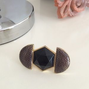 House of Harlow Geometric Ring
