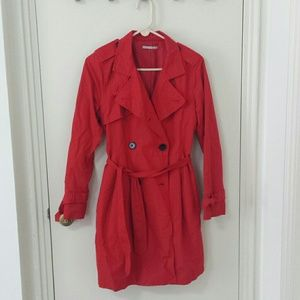 GAP Outerwear - Red Gap trench coat