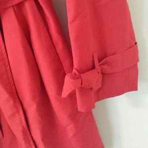 GAP Jackets & Coats - Red Gap trench coat