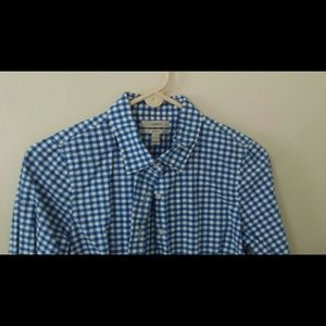 J. Crew Tops - J.Crew button-down gingham shirt