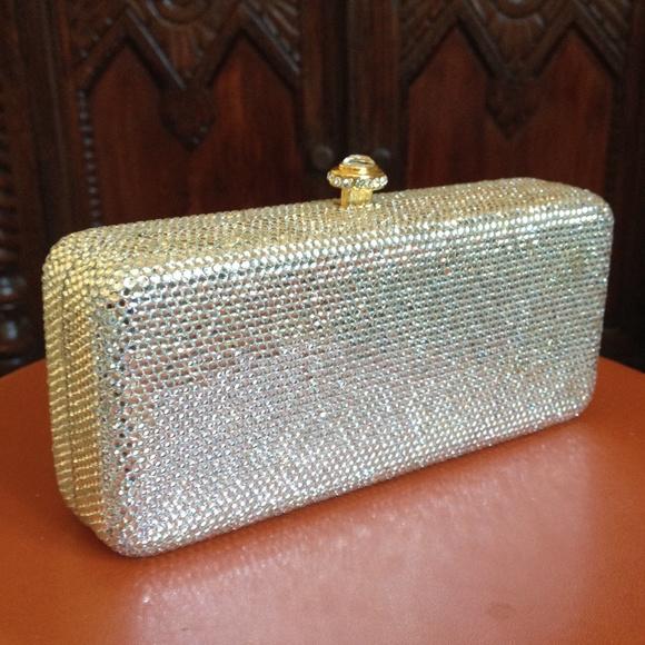 57% off Kathrine Baumann Handbags - Swarovski Couture ...