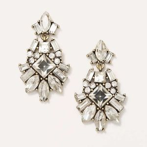 LOFT Crystal Chandelier Earrings