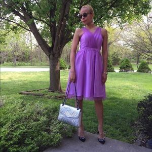 Donna Morgan Lilac Tulle Cocktail Dress Size 2