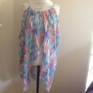 """Boutique Other - NWOT """"Endless Summers"""" hi-lo coverup"""