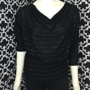 🆕LISTING Michael Stars Black Sequin Top