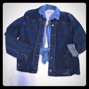 Nordstrom Denim Jacket..NWOT. (Jean)